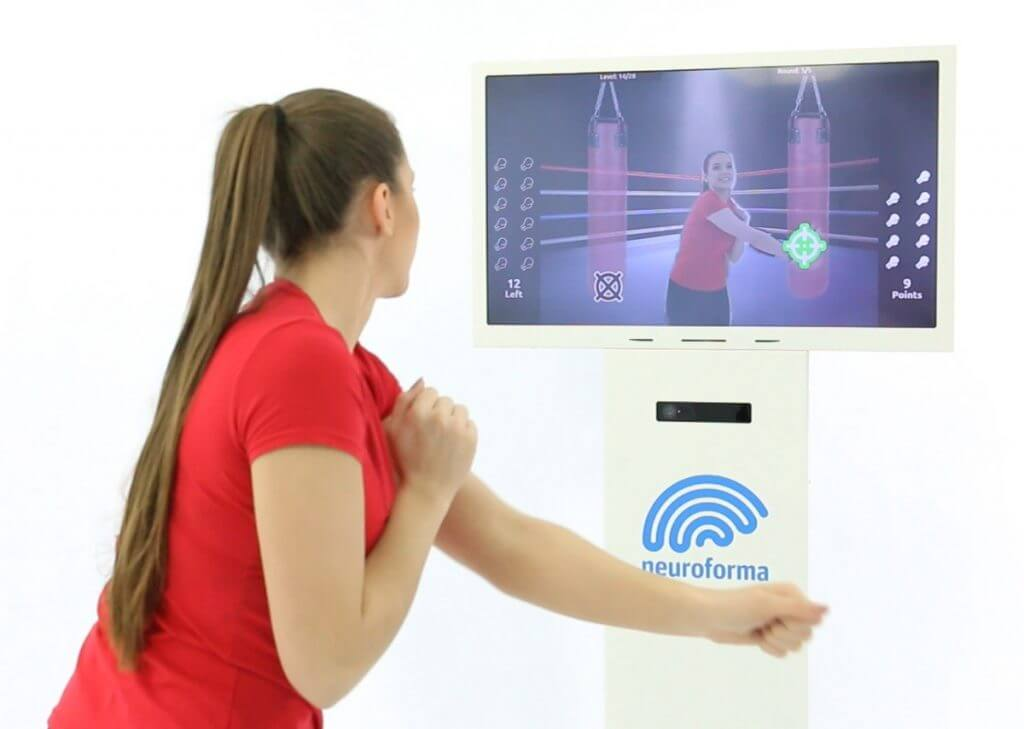 Neuroforma PRO station - for interactive motor and cognitive exercises in the facility